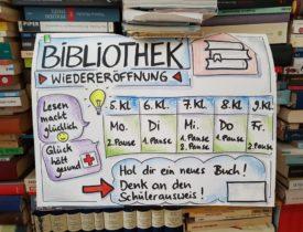 Schulbibliothek: Endlich wieder Lesen in der Schule!