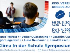 """Großes KLIMAWISSEN-Event """"KISS – vereint für die Zukunft"""" (31.03.-01.04.2021)"""