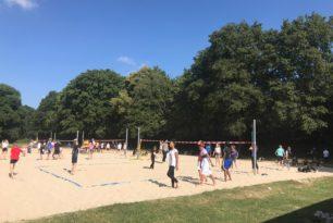 Das Gymnasium Limmer feiert sein drittes Sportfest