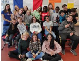 FranceMobil besucht Gymnasium Limmer