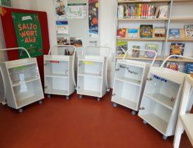 Bibliothek: Ehrenamtliche stellen Namen vor